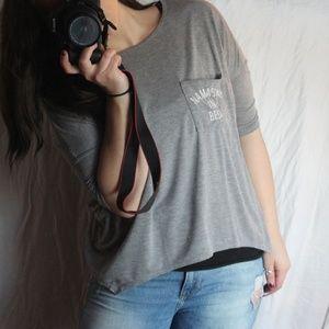 NAMASTAY IN BED 1/2 sleeve shirt XL